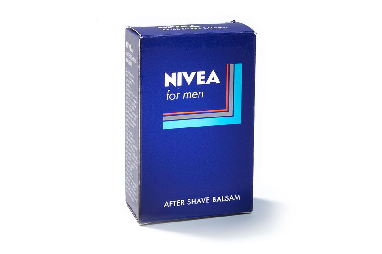 NIVEA brand history Packaging 1986