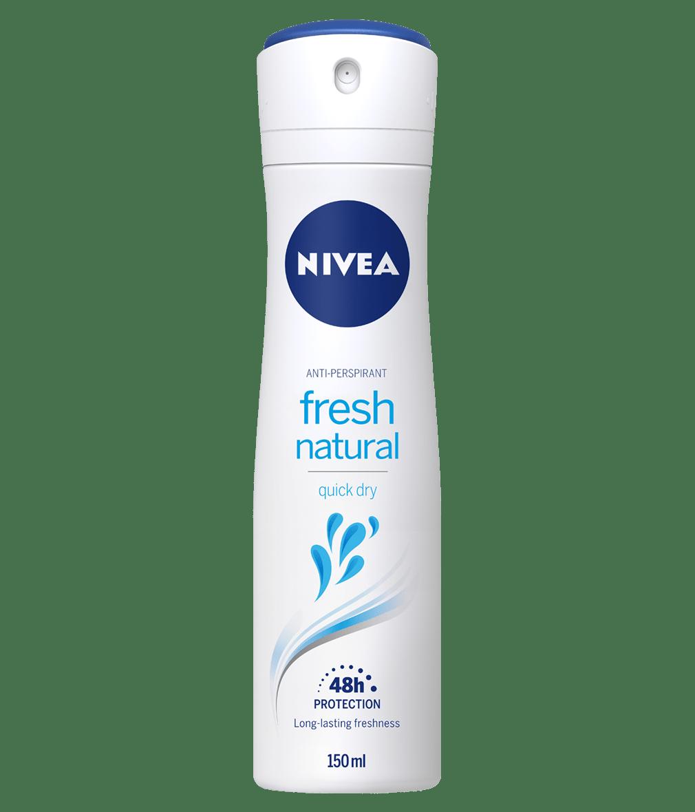 Fresh Natural Deodorant Spray   Anti-Perspirant   NIVEA